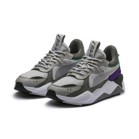 Thumbnail 4 of Basket RS-X Tracks, Gray Violet-Charcoal Gray, medium