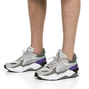 Thumbnail 2 of RS-X Tracks Trainers, Gray Violet-Charcoal Gray, medium