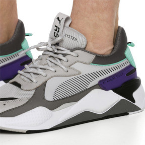 Thumbnail 3 of RS-X Tracks Sneaker, Gray Violet-Charcoal Gray, medium