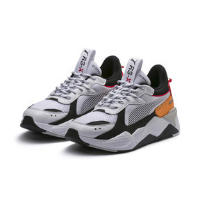 Thumbnail 3 of RS-X Tracks Trainers, Puma White-Puma Black, medium