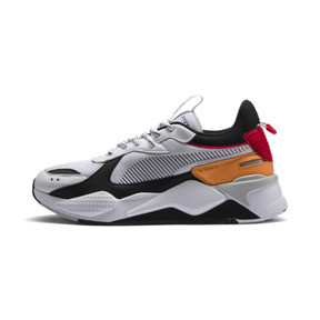 Thumbnail 1 of RS-X Tracks Trainers, Puma White-Puma Black, medium