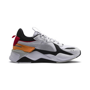 Thumbnail 6 of RS-X Tracks Trainers, Puma White-Puma Black, medium