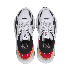 Thumbnail 7 of RS-X Tracks Trainers, Puma White-Puma Black, medium