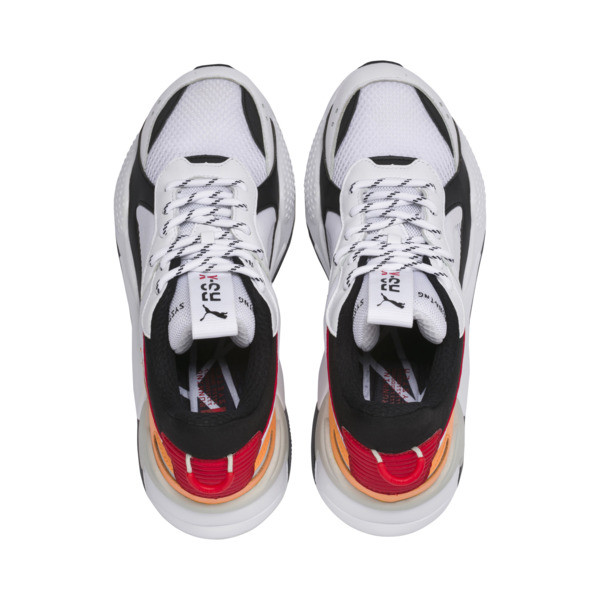 RS-X Tracks, Puma White-Puma Black, large