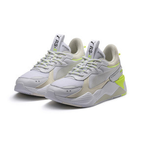 Thumbnail 2 of RS-X Tracks Sneaker, Puma White-Whisper White, medium