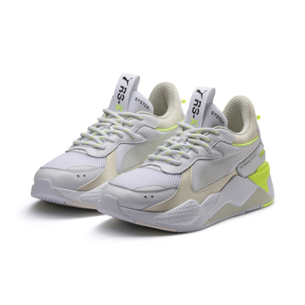 RS-X Tracks Sneaker, Puma White-Whisper White, large