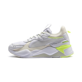 Thumbnail 1 of RS-X Tracks Trainers, Puma White-Whisper White, medium