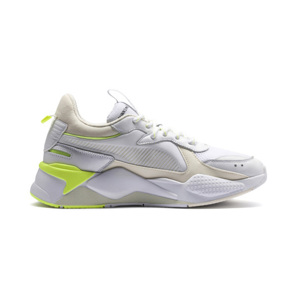 RS-X Tracks Trainers, Puma White-Whisper White, large