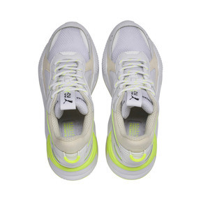 Thumbnail 6 of RS-X Tracks Trainers, Puma White-Whisper White, medium