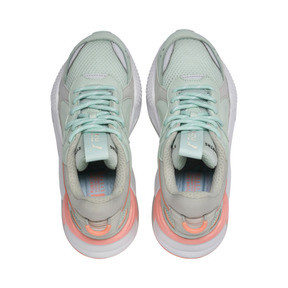 Thumbnail 6 of RS-X Tracks Trainers, Fair Aqua-Glacier Gray, medium