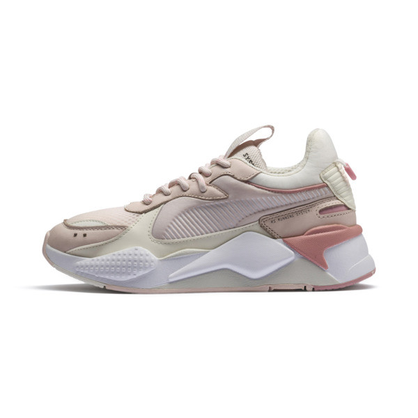 RS-X Tracks Trainers, Mauve Morn-Marshmallow, large