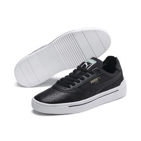 Thumbnail 3 of Cali-0 Trainers, Puma Black-Puma Blk-Puma Wht, medium