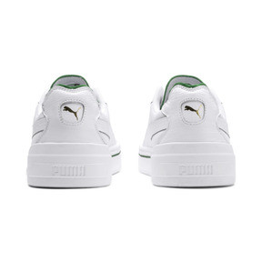 Thumbnail 4 of Cali-0 Trainers, PumaWht-Amazon Green-PumaWht, medium