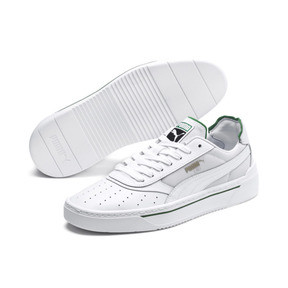 Thumbnail 3 of Cali-0 Trainers, PumaWht-Amazon Green-PumaWht, medium