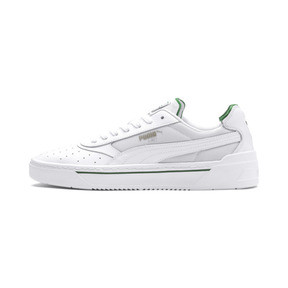 Thumbnail 1 of Cali-0 Trainers, PumaWht-Amazon Green-PumaWht, medium