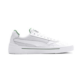 Thumbnail 6 of Cali-0 Trainers, PumaWht-Amazon Green-PumaWht, medium