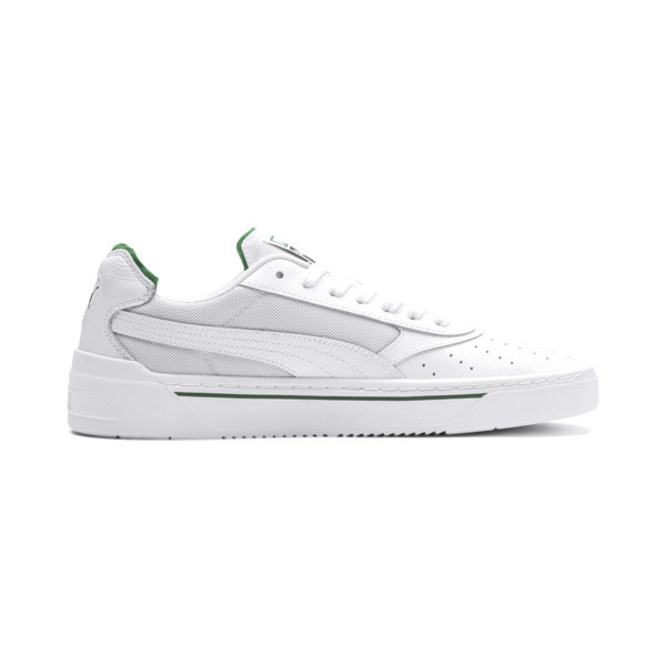 Cali-0 Trainers, PumaWht-Amazon Green-PumaWht, large
