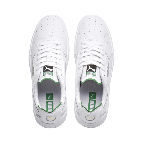 Cali-0 Sneaker, PumaWht-Amazon Green-PumaWht, large