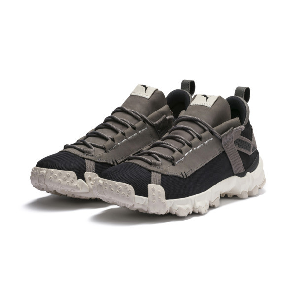 Trailfox Trainers, Puma Black-Charcoal Gray, large