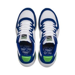 Thumbnail 6 of RS-350 Summer Trainers, Puma White-Surf The Web, medium