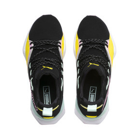 Thumbnail 6 of Basket Muse Maia TZ pour femme, Puma Black-Blazing Yellow, medium