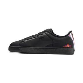 Thumbnail 1 of Basket Trailblazer Women's Sneakers, Puma Black-Fuchsia Purple, medium