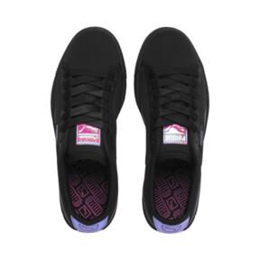 Thumbnail 6 of Basket Trailblazer Women's Sneakers, Puma Black-Fuchsia Purple, medium