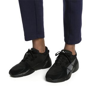Thumbnail 2 of Zeta Suede Sneaker, Puma Black-Light Sky, medium