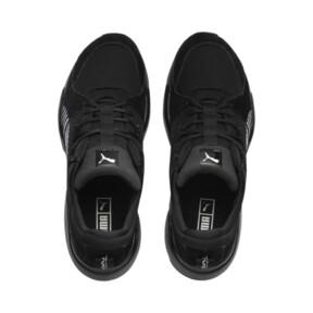 Thumbnail 7 of Zeta Suede Sneaker, Puma Black-Light Sky, medium