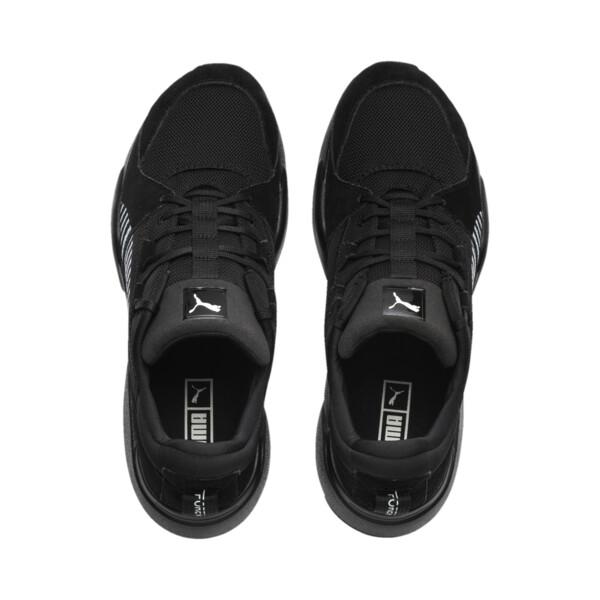 Zeta Suede Sneaker, Puma Black-Light Sky, large