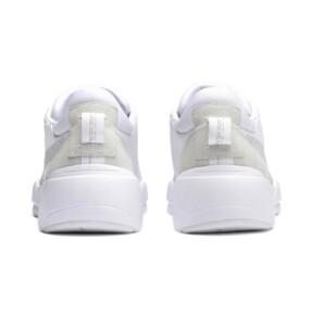 Thumbnail 5 of Zeta Suede Sneaker, Puma White-Glacier Gray, medium
