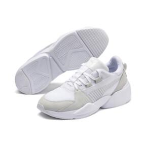 Thumbnail 4 of Zeta Suede Sneaker, Puma White-Glacier Gray, medium