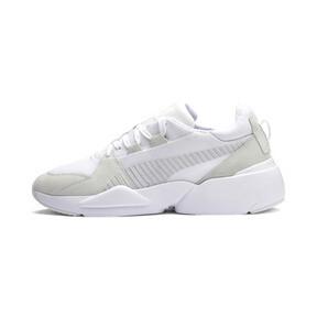 Thumbnail 1 of Zeta Suede Sneaker, Puma White-Glacier Gray, medium