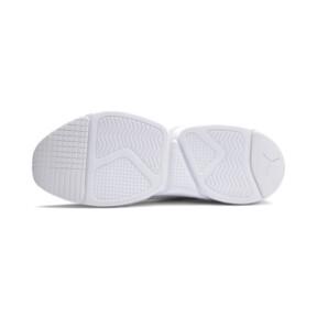 Thumbnail 6 of Zeta Suede Sneaker, Puma White-Glacier Gray, medium