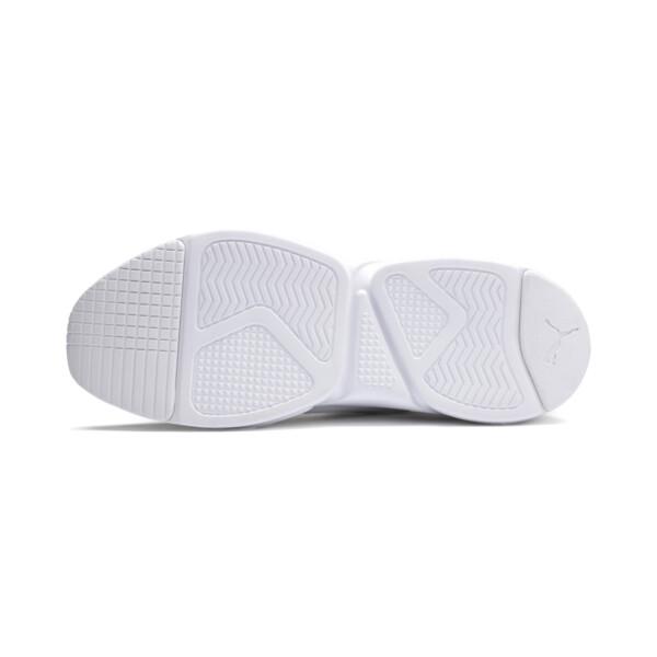 Zeta Suede Sneaker, Puma White-Glacier Gray, large