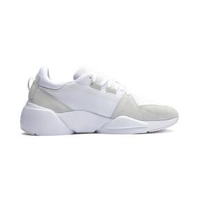 Thumbnail 7 of Zeta Suede Sneaker, Puma White-Glacier Gray, medium