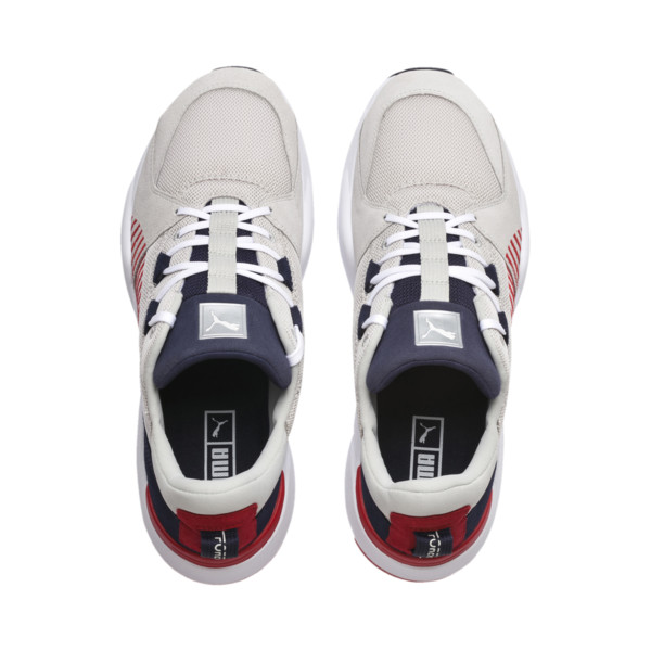 Zeta Suede Sneaker, Glacier Gray-Peacoat, large