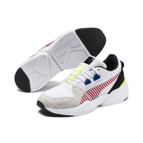 Thumbnail 2 of Zeta Suede Sneaker, Puma White-Whisper White, medium
