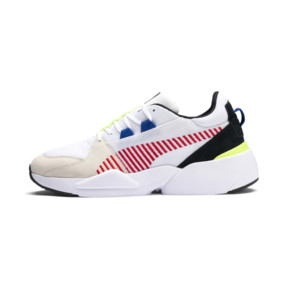 Thumbnail 1 of Zeta Suede Sneaker, Puma White-Whisper White, medium