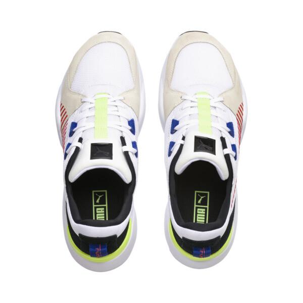 Zeta Suede Sneaker, Puma White-Whisper White, large