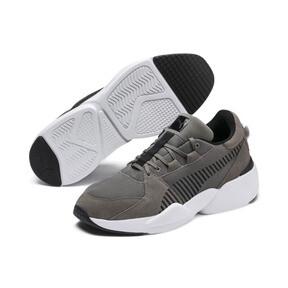 Thumbnail 2 of Zeta Suede Sneaker, Charcoal Gray-Puma Black, medium