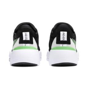 Thumbnail 3 of Zeta Suede Sneaker, Puma Black-Irish Green, medium