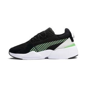 Thumbnail 1 of Zeta Suede Sneaker, Puma Black-Irish Green, medium