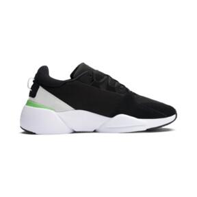 Thumbnail 5 of Zeta Suede Sneaker, Puma Black-Irish Green, medium