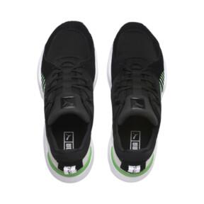 Thumbnail 6 of Zeta Suede Sneaker, Puma Black-Irish Green, medium