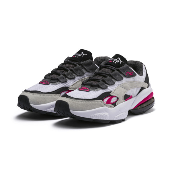 Basket Cell Venom, Puma White-Fuchsia Purple, large