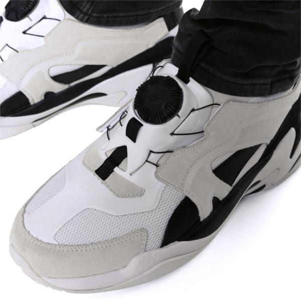 サンダー ディスク スニーカー, Puma White-Puma Black, large-JPN