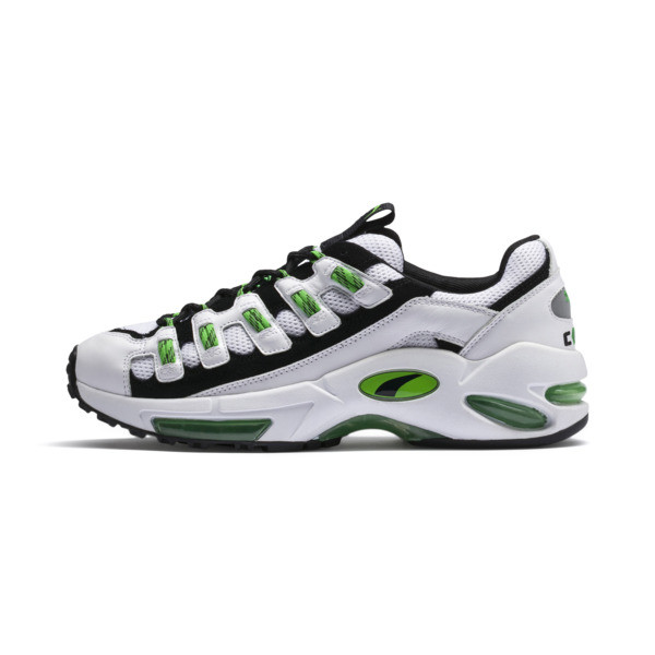 Cell Endura Sneaker, Puma White-Classic Green, large
