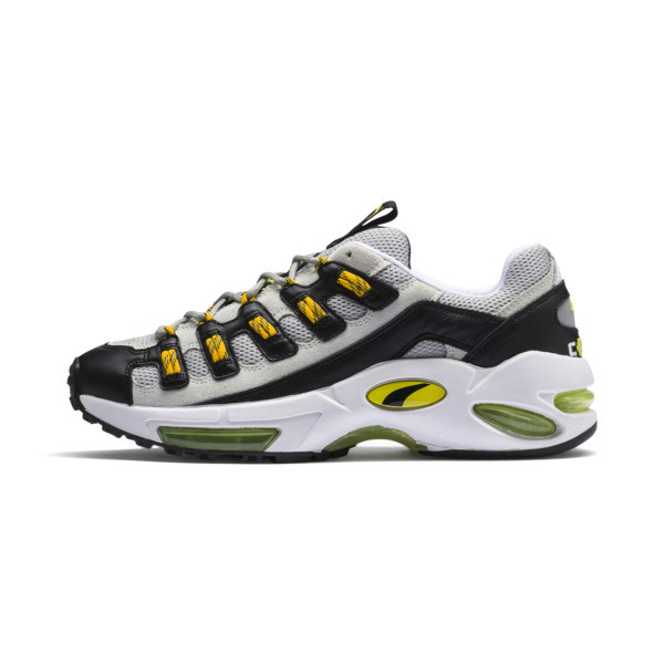 CELL Endura Sneakers, Puma White-Blazing Yellow, large