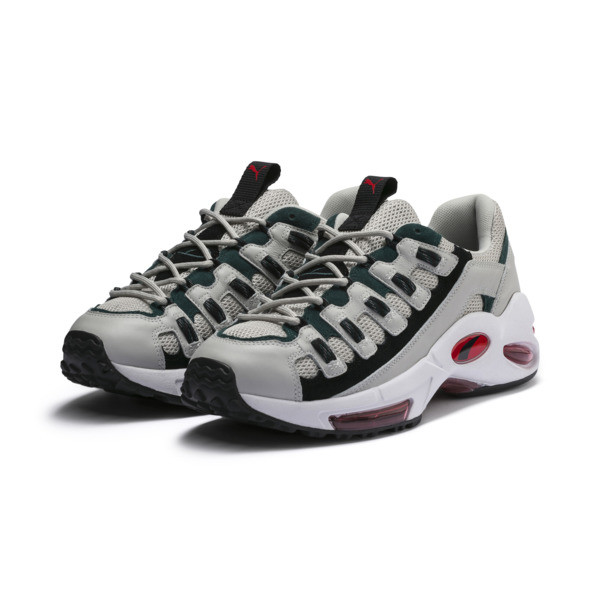 CELL ENDURA スニーカー, Glacier Gray-High Risk Red, large-JPN